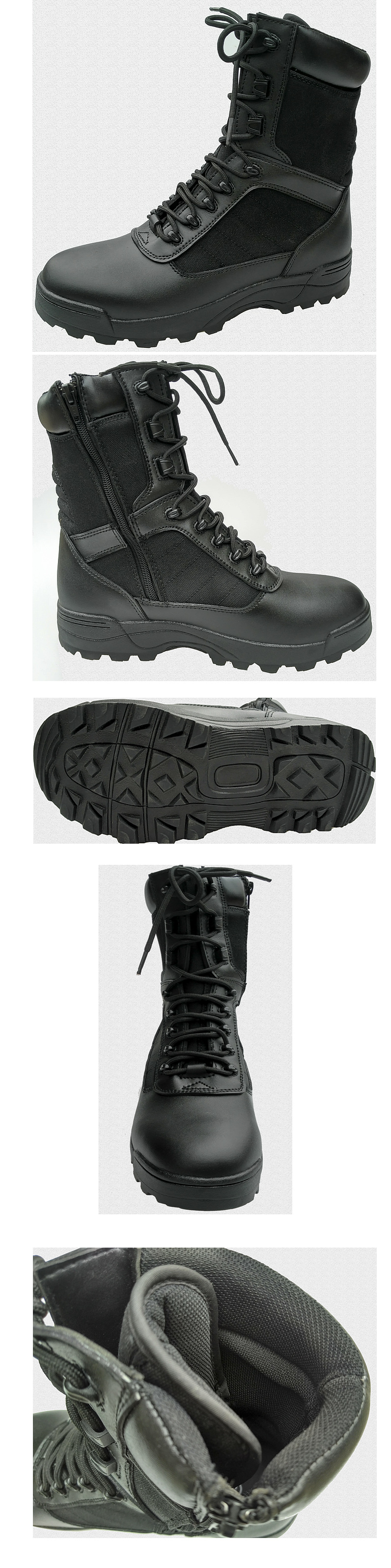 Steel Full Grain Leather Safety Shoes