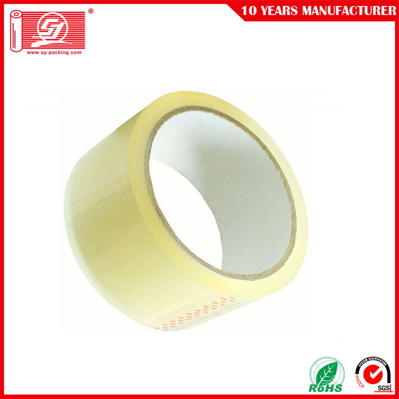 BOPP Yellowish Adhesive Packing Tape