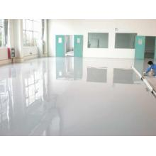 Workshop high strength epoxy self-flowing flat paint