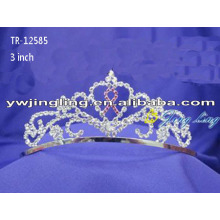 Wholesale crystal crowns for girls cheap