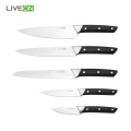 5pcs Kitchen Professional Stainless Steel Knife Set
