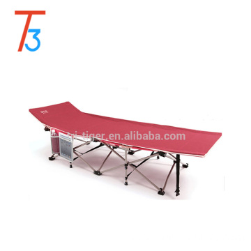 Adult size folding bed for outdoor use single person folding camping bed