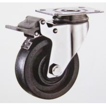 220℃ Swivel brake stainless high temperature caster wheel