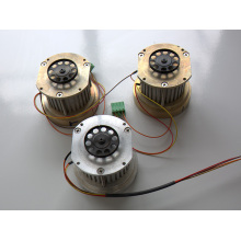 Stepper motor for yarn guide