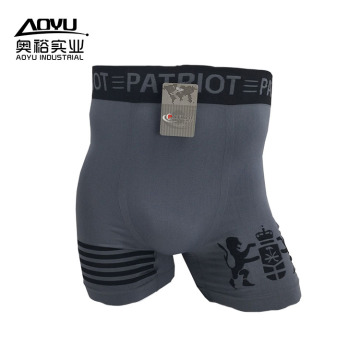Wholesale Cotton Nylon Seamless Mens Underwear