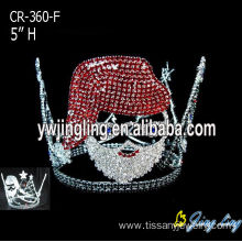 5 Inch Custom Santa Christmas Crowns Jewelry