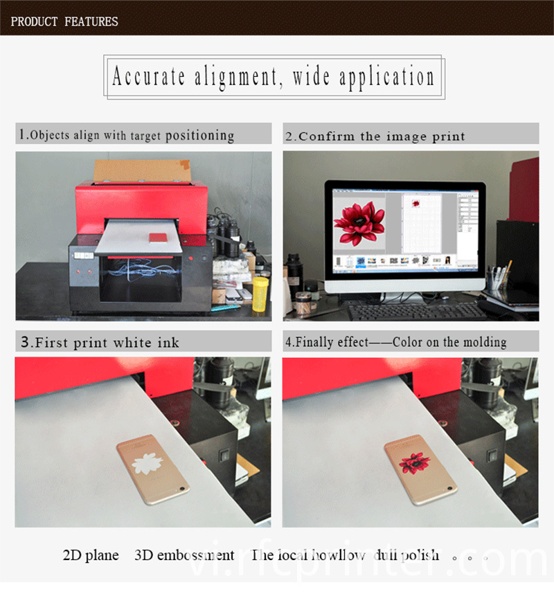 Benchtop Uv Flatbed Printer