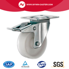 Plate Swivel Brake PP Industrial Caster