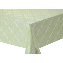 Solid Embossed Fabric Tablecloth Covers with Elastic