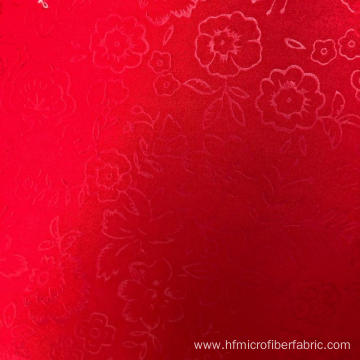 dyeing factory Dyed 100% polyester embossed fabric