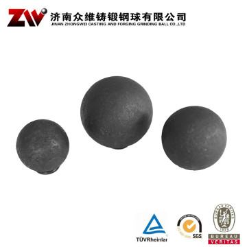Hot rolling Forged grinding balls for cement10mm