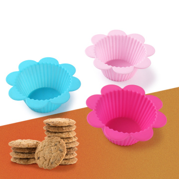 Mini Beautiful Flower Silicone Cake Mold