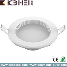 8W AC LED Downlight High luminous Plastic
