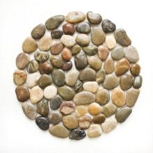 Leading for River Pebbles Mesh river rocks mat export to Reunion Supplier
