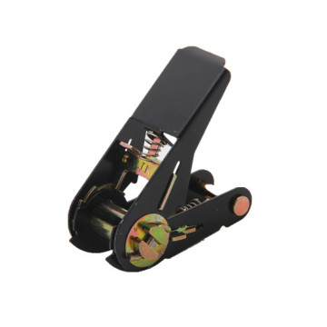 1Inch Standard Ratchet Buckle With Black Electrophoretic Paint