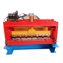 Roof Tile Trapezoidal Steel Sheet Roll Forming Machine
