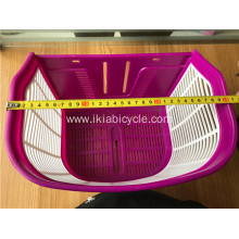 Kids Gift Plastic Bicycle Basket