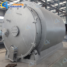 Reliable for Rubber Pyrolysis Recycling Plant Waste Rubber Oil Refinery Machine supply to Paraguay Supplier