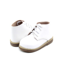 Hard Sole Walking Shoes Leather Baby Boots