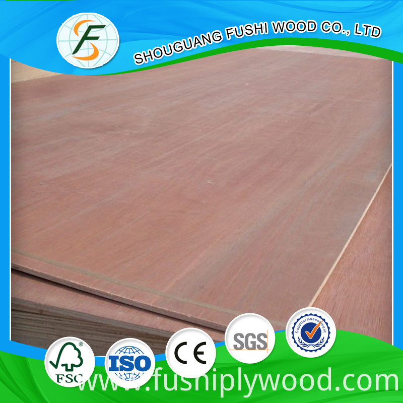 18mm Thickness Commercial Plywood
