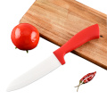 ABS Red Handle 5 Inches Ceramic Knife