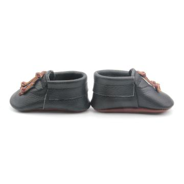 Tassel Black Soft Sole Baby Casual Shoes