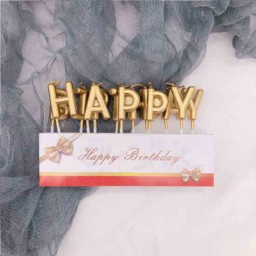 Hotale High Quality Letter Birthday Cake Candle