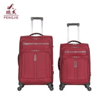 2018 latest design  cheap soft fabric luggage