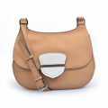 Medium Front Flap Bag Fold Over Purse Leather