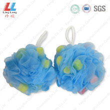 Durable smooth bathroom sponge ball
