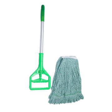 High quality cotton floor wet cleaning mops