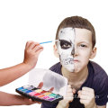 washable world cup flag camouflage face paint