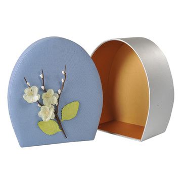 Creative Oval Wedding Party Favor Paper Box