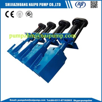 Naipu rubber vertical slurry pump