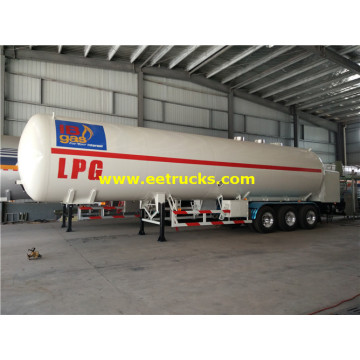54000 Liters LPG Gas Tanker Semi Trailers