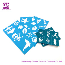 Quality for Reusable Face Paint Stencils Soft Pliable Reusable Face Paint Stencils supply to Italy Factory