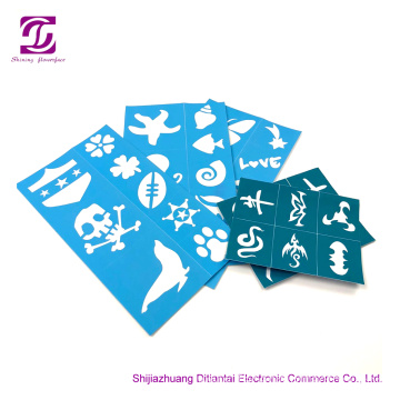 Soft Pliable Reusable Face Paint Stencils
