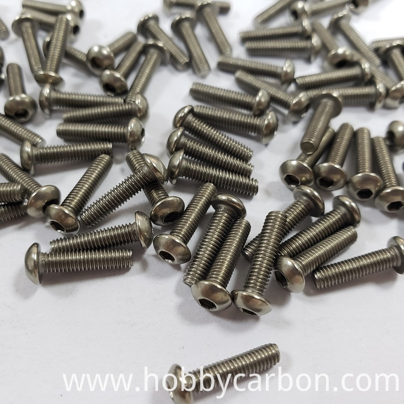 Titanium Button Head Screws