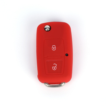 Silicone Car Key Cover for VW golf jetta