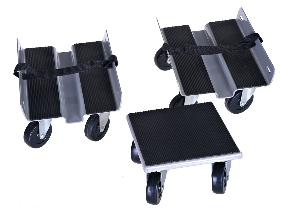 Heavy duty snowmobile dolly Set of 3