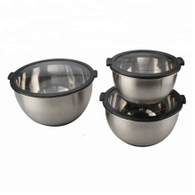 China for Mixing Bowl Stainless Steel Bowl For Salad Prepare Dishwasher Safe export to Poland Exporter