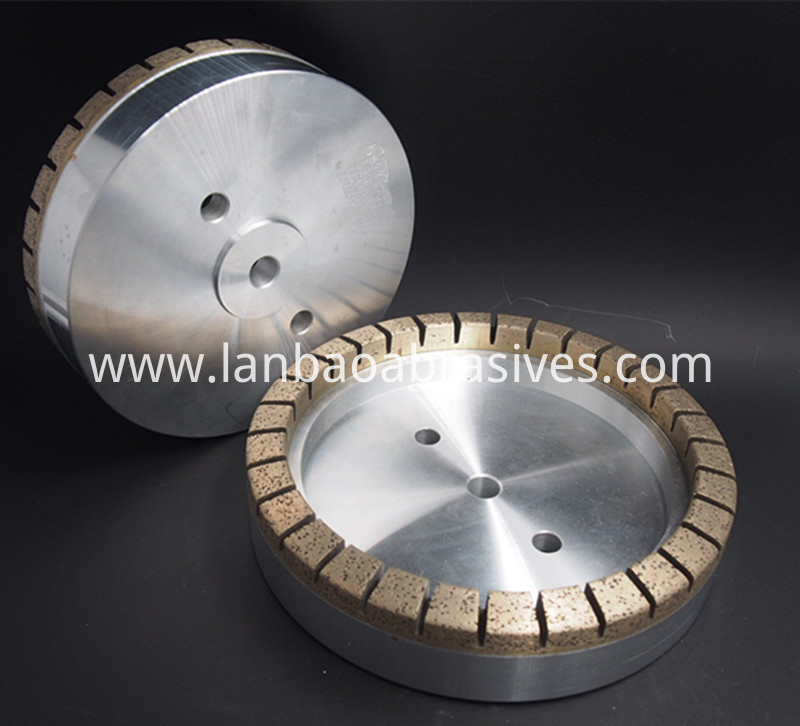 Diamond cup wheel segmented D150