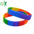 Hot Sale Magnetic Ion Embossed Power Silicone Wristbands