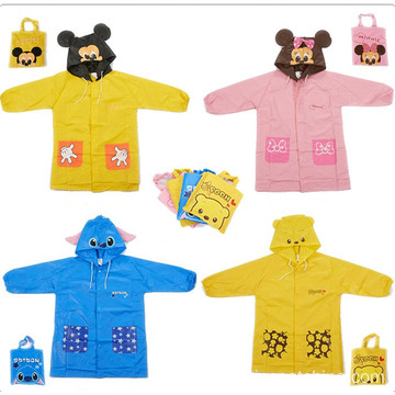 Factory wholesale price for Kids PVC Raincoat Waterproof Kids Long Sleeves Rain Coat export to France Manufacturers