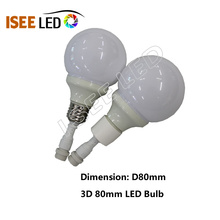 Excellent quality for 3D Light Led Bulb Artnet Led Bulb RGB Lighting for Club export to Germany Importers