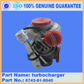 PC300-7 pc360-7 turbocharger assy 6743-81-8040