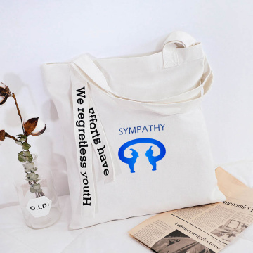 Customized and simple hand-held bag canvas tote bag
