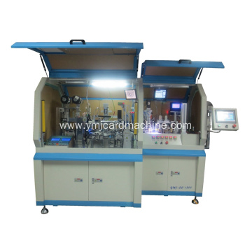 Dual Interface Card Embedding Machine