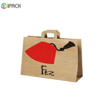 Hot Selling Kraft Paper Restaurant Food Packaging Bags