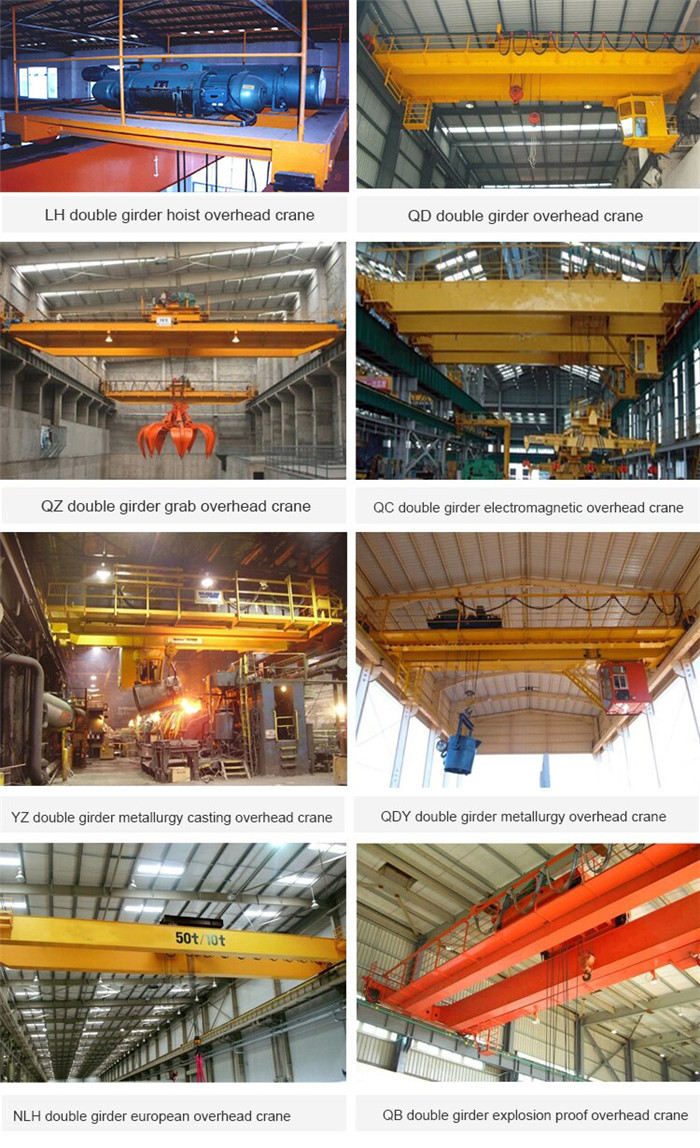 double girder overhead bridge crane